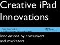 Creative iPad Innovations