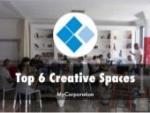 Top 6 Creative Work Spaces