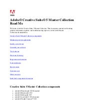 Creative suite 5 master collection ...