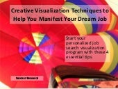 Creative visualization for_job_seekers