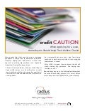 Home buyer Credit Caution