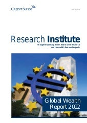 Credit suisse   global wealth repor...