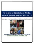 Creekview High School Media Center Annual Report 2010-11