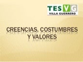 Creencias, costumbres y valores
