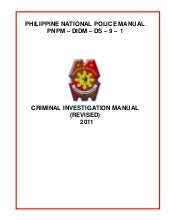 Philippine National Police Criminal...