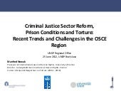 Criminal Justice Sector Reform and ...