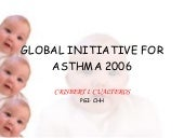 ASTHMA GINA CLASSIFICATION