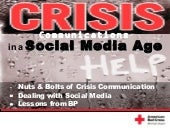 Crisis Communications in a Social M...