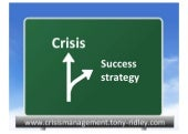 Crisis management.crisis leadership.training.tony ridley.part 1.14
