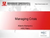 Crisis management and Social Media ...