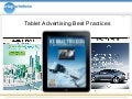 iPad Advertising Best Practices