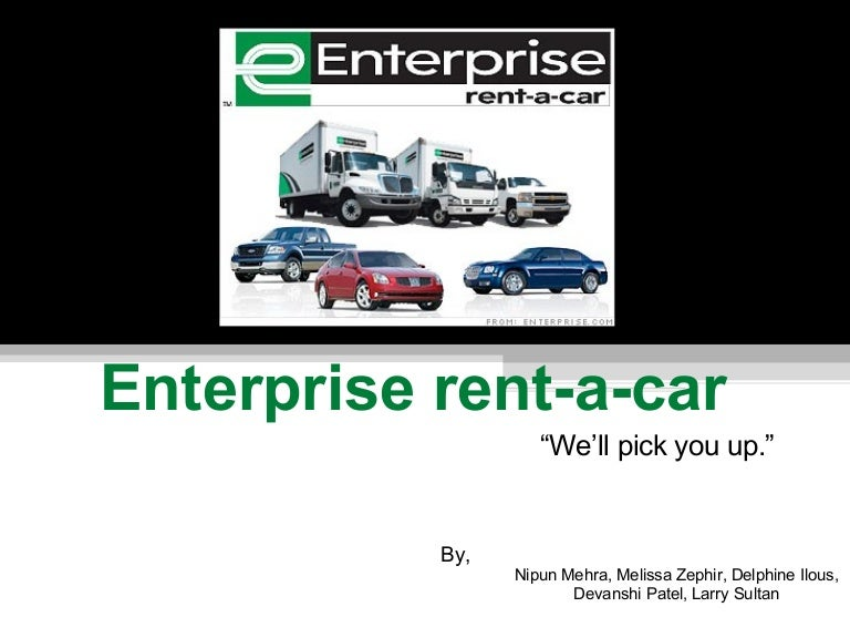 Does Enterprise Pick The Car Up For You