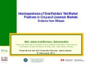 Interdependence of smallholders' ne...