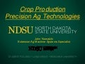 Crop production precision ag technologies 3 20-2013