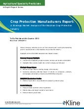 Crop Protection Manufacturers Repor...