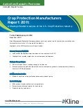 Crop Protection Manufacturers Report 2011 US - Brochure