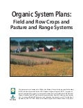 Organic System Plans: Field and Row Crops and Pasture and Range Systems