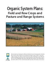 Organic System Plans: Field and Row...