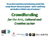 Crowdfunding for the Arts and Cultu...