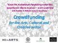 Crowdfunding Workshop November 2012