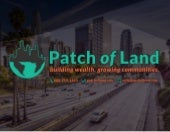 Crowdfunding Real Estate With Patch of Land