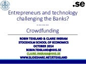 Crowdfunding Overview