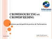 Crowdsourcing and crowdfeeding (fre...