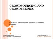 Crowdsourcing and crowfeeding - sec...