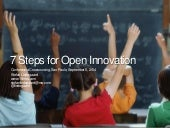 7 Steps for Open Innovation - Conferencia Crowdsourcing, Sao Paulo, Brazil