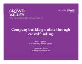 Company building online through cro...