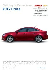 2012 Chevy Cruze in Baltimore, Mary...
