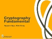 Cryptography Fundamentals
