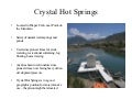 Crystal Hot Springs