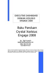 Crystal xcelsius engage 2008 dalam ...