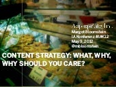 Content Strategy: What, Why, Why Sh...