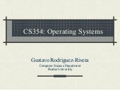 Purdue CS354 Operating Systems 2008