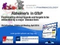 Alzheimer's in the Guide to PHARMACOLGY: front-loading ligands and targets