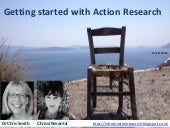 Getting started with action research with Dr Chris Smith and Chrissi Nerantzi