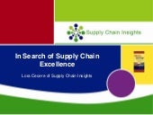 Presentation at the Chief Supply Ch...