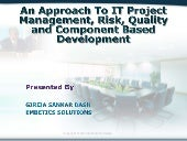 Cse it seminar ppt1, An Approach To...