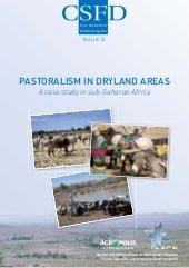 Pastoralism in dryland areas. A cas...