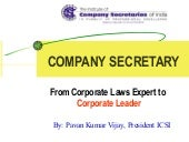 Cs from corporate laws expert to  c...