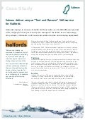Halfords SMS case Study