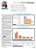 CSIL Outook for the Global Market in 2016