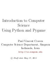 Introduction to Computer Science Us...