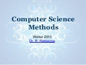 Cs methods jan 8 2013