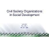 Civil Society Organisation