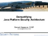 Java Platform Security Architecture