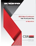 CSR Value Continuum:  Value Distribution to Value Creation