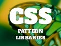 CSS pattern libraries